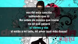 "Danna Paola ""Ruleta"" Lyric Video"