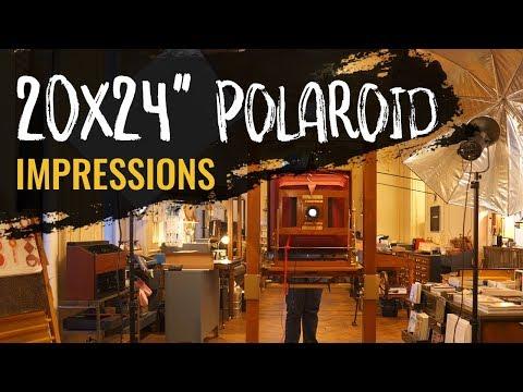 "20x24"" Polaroid - Taking the worlds largest Polaroid photo"