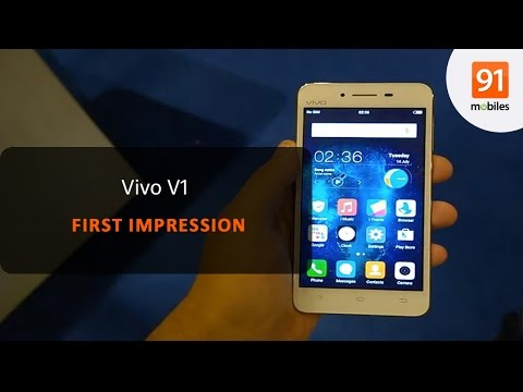 Vivo V1: First Look | Hands on | Price