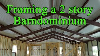 Barndo 214 Framing - The Barndominium Show E134