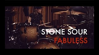 Stone Sour - Fabuless (drum cover by Vicky Fates)