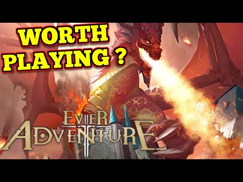 2D MMO mobile game Ever Adventure: Second Impressions