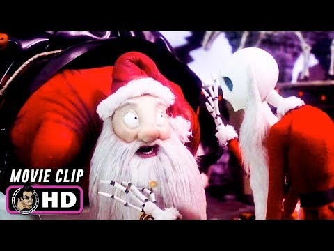 THE NIGHTMARE BEFORE CHRISTMAS Clip - Meeting Santa (1993) Disney