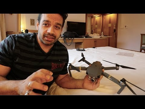 Flying a Drone Inside a Hotel Room. BAD IDEA !!