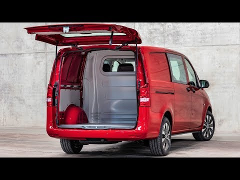 2020 Mercedes Vito Mixto - Versatile Van For Passengers And Cargo