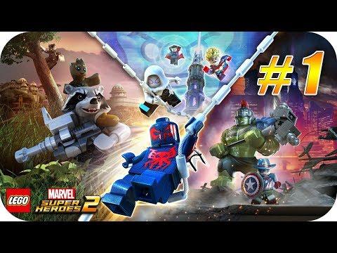 Gameplay de LEGO Marvel Super Heroes 2 Deluxe Edition