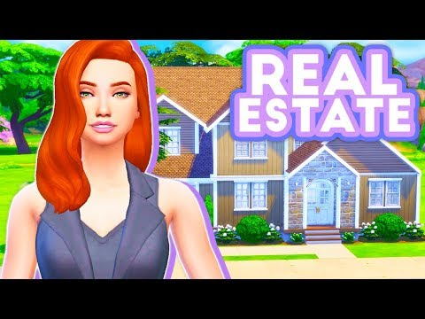 REAL ESTATE CAREER🏡 // THE SIMS 4 | MOD OVERVIEW