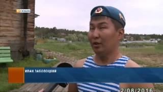 В День ВДВ десантники в Якутске навестили воспитанников детского дома «Берегиня»