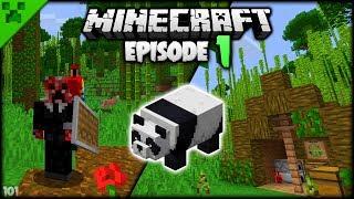 Minecraft Starter Tent & Beginnings! | Python