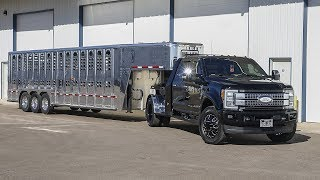 THE NEW COUNTRY TRUCK! 2017 F350 HAULER EDITION WITH SUPER POLISHED LIVE STOCK TRAILER! 🔥🔥🔥