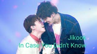 "BTS Jikook ""In Case You Didn't Know""🌹"