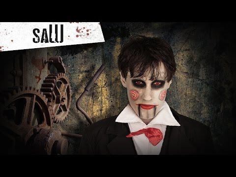 Tutorial de maquilhagem de Saw para Halloween