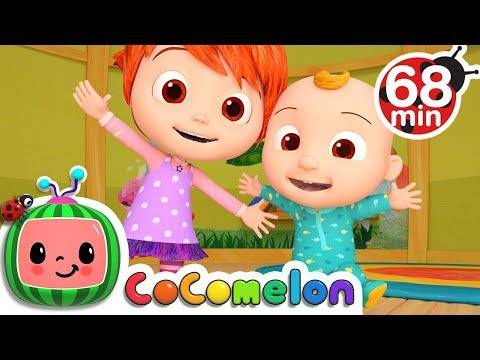 Stretching and Exercising Song | +More Nursery Rhymes & Kids Songs - Cocomelon (ABCkidTV)