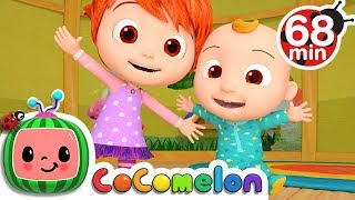 Stretching and Exercising Song | +More Nursery Rhymes & Kids Songs - CoCoMelon