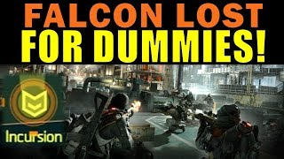 The Division 1.8.1 / FALCON LOST for Dummies / GE BLACKOUT / Walkthrough Guide