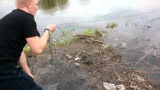 Как пользоваться дорожкой для ловли рыбы