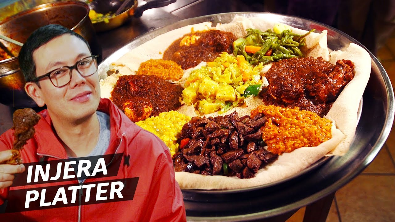 Rome's Best Ethiopian Restaurant and Its Famous Chicken Stew — Dining on a Dime thumbnail