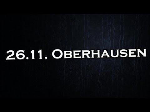 Tourtagebuch MO[NU]MENT Part II – 26.11.2016 Oberhausen
