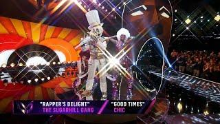 "Skeleton sings ""Rapper's Delight"" by The Sugarhill Gang | THE MASKED SINGER | SEASON 2"