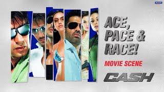 Ace, Pace & Race | Cash | Movie Scene | Ajay, Suniel, Riteish, Zayed, Shamita, Esha | Anubhav Sinha