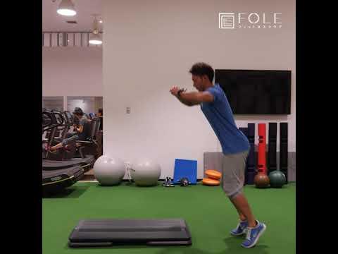 【下半身・心肺機能に!】ステップ・椅子を使ったトレーニングのご紹介です!