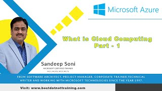 What is Cloud computing - Part 01   Cloud Computing Tutorial for Beginners