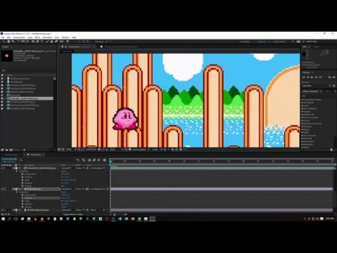 How To Create A Sprite Animations Easily Inside After Effects