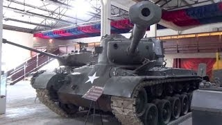 M26 Pershing, The Tank Museum, Saumur, Maine-et-Loire, France, Europe