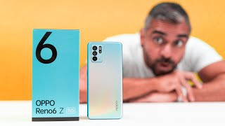 Oppo Reno6 Z 5G - THIS is COOL - Unboxing & First Impressions