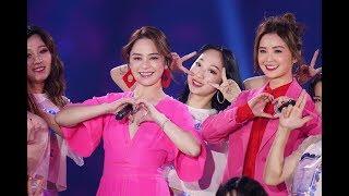 20181231《2019江蘇衛視跨年演唱會》Twins《下一站天后》《見習愛神》