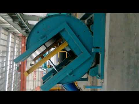90 Degree Rotating Industrial Coil Upender and Sheet Tilter All in One Machine