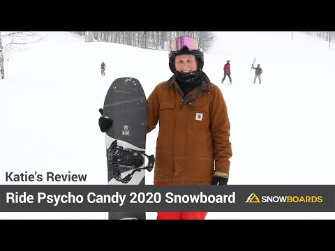 Video: Ride Psycho Candy Snowboard 2020 12 50