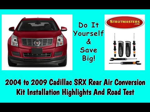 Cadillac SRX With A Front & Rear Shock And Strut Replacement By Strutmasters / Ride Along