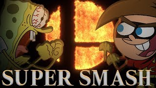 Super Smash Bros Ultimate VS. Nicktoons CROSSOVER (Spongebob, Fairly OddParents, Danny Phantom)