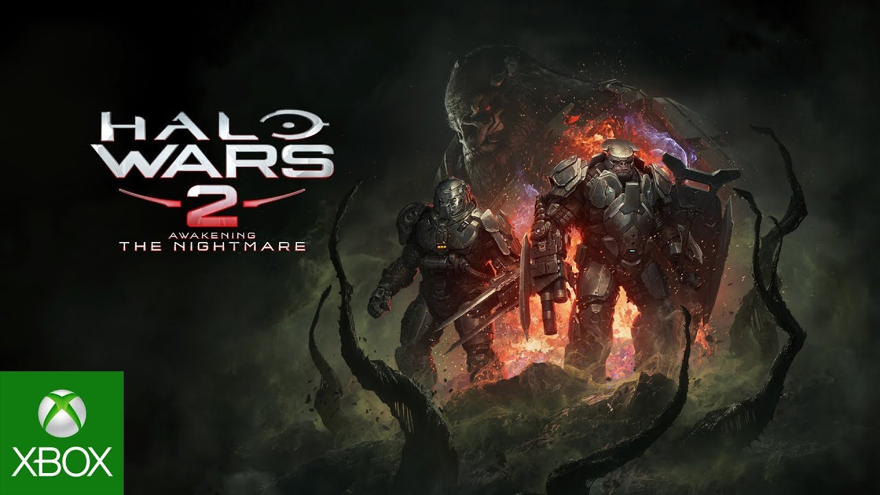 halo wars 2 awakening the nightmare, front view shot of 3 brutes