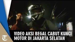 Video Aksi Begal Cabut Kunci Motor di Jakarta Selatan, Ini Kata Polisi