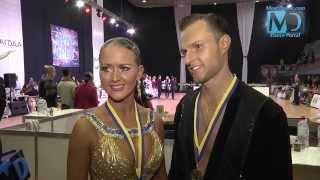 Kyiv Open 2013 - Александр Гайдаш и Елена Дыбань (интервью)