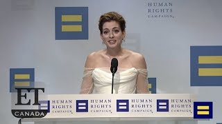 Anne Hathaway Honoured With National Equality Award