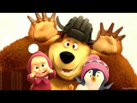 Мультик Маша и Медведь Игра Маша и Медведь Кто икнул?