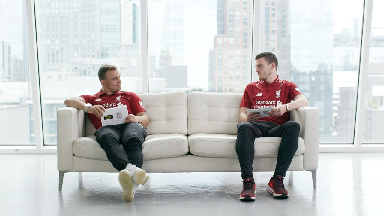 Throwback: Shaqiri & Robertson in NYC