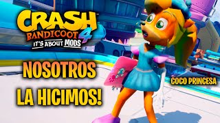 Princess Coco Mod Skin for Crash Bandicoot 4