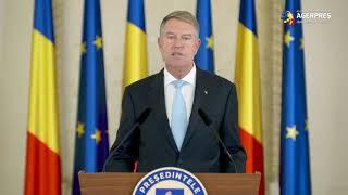 Iohannis: Am decis să desemnez candidat la funcţia de prim-ministru pe Dacian Cioloş