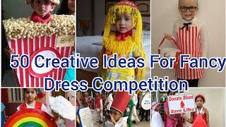 Fancy Dress Ideas|Fancy Dress  Competition First Prize|Unique Fancy Dress Ideas