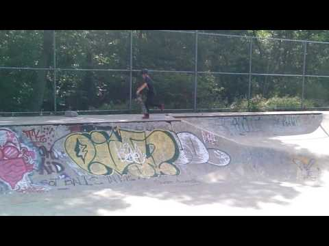 Crazy Skatepark in Worcester, Massachusetts