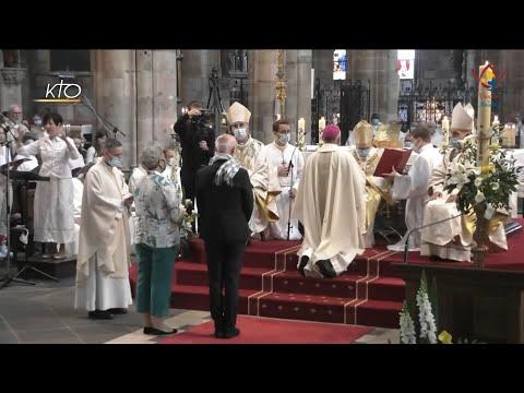 Le nouvel évêque de Moulins ordonné