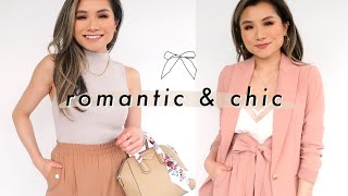 """Romantic Lookbook """"Parisian Chic Style"""" 