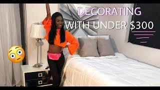 UNDER $300 BEDROOM MAKEOVER | ANGEL'S WORLD