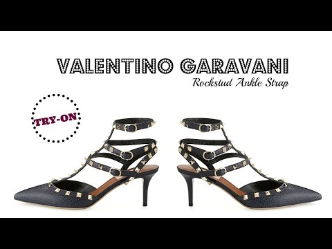 TRY-ON | Valentino Garavani Kitten Heel Pump