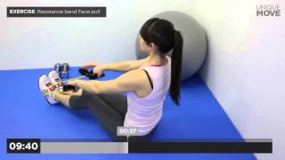 15 minute back workout with resistance bands (Intermediate) by UniqueMove