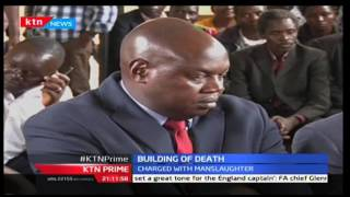 KTN Prime: Jeremiah Matoke owner of the collapsed building in Kisii county gets charged in court